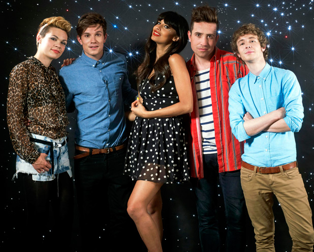 Georgie Okell, Will Best, Nick Grimshaw, Jameela Jamil and Matt Edmondson