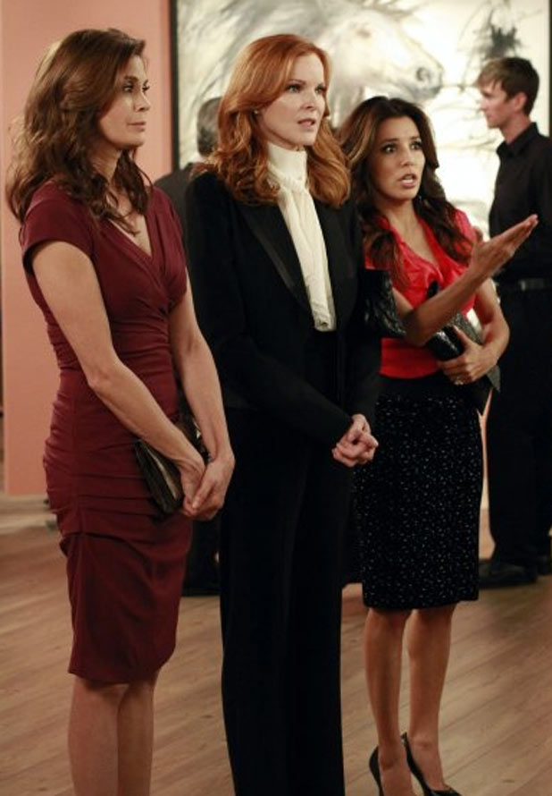 Susan Delfino, Bree Van Der Camp and Gabrielle Solis