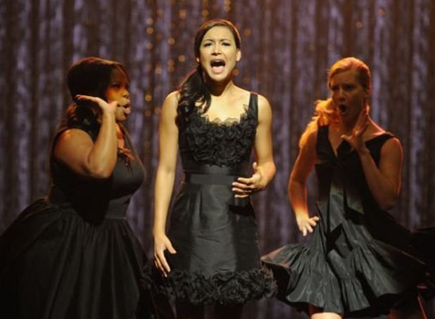 Santana Lopez, Mercedes Jones and Brittany Pierce