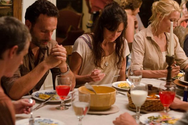 Shane Walsh, Lori Grimes and Andrea