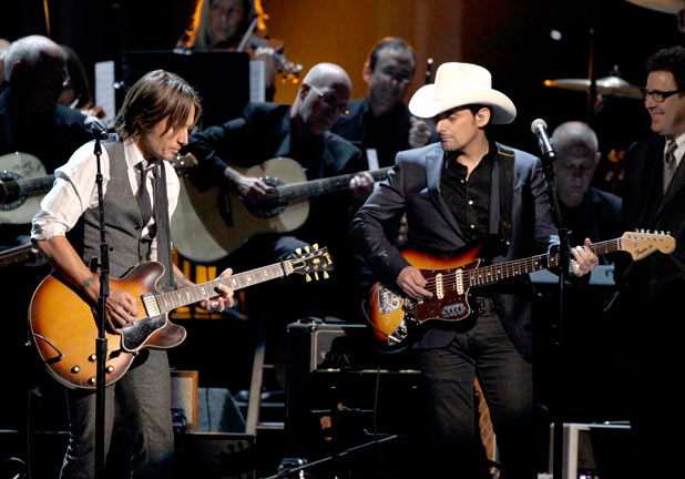 Brad Paisley is joined by Keith Urban