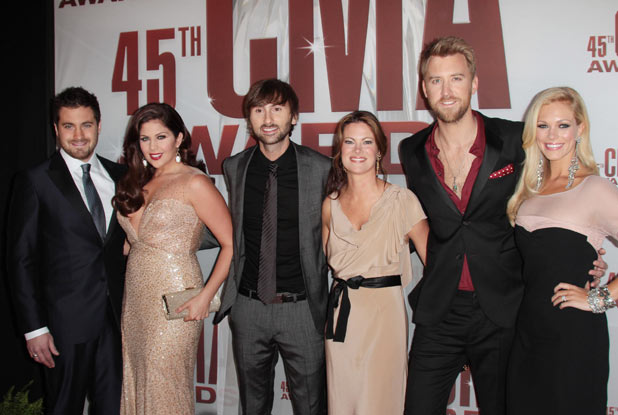 Grammy winners Lady Antebellum