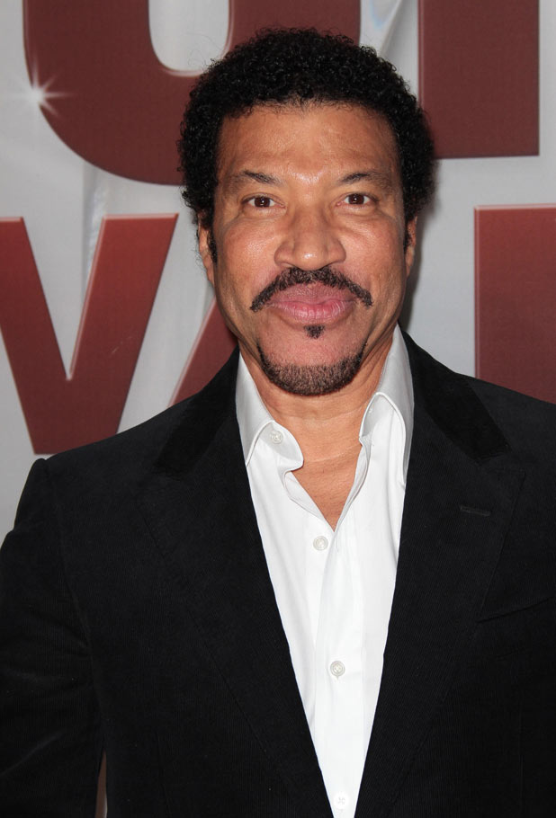 Lionel Richie beams