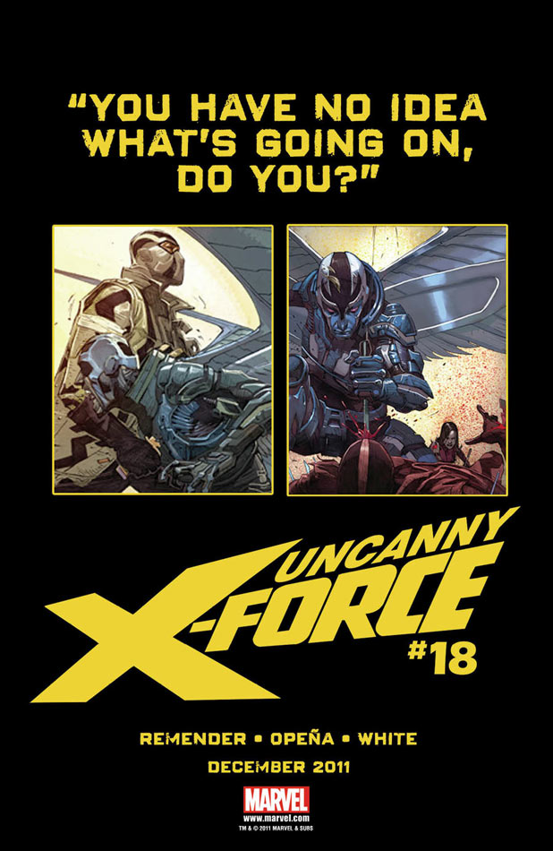 Uncanny X-Force Dark Angel Saga Archangel Fantomex