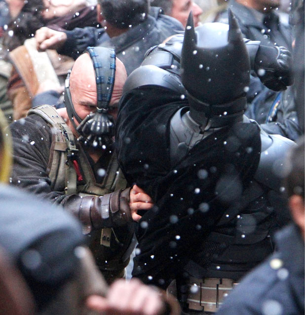 Dark Knight Rises Onset Pictures