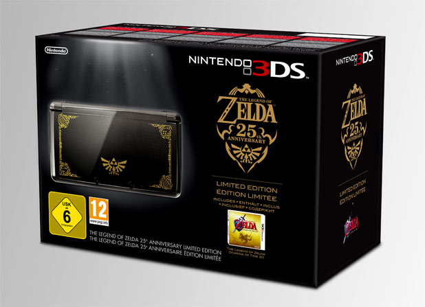 Nintendo 3DS Legend of Zelda bundle