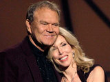 Glen Campbell with wife Kim.