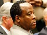 Dr Conrad Murray in court as the verdict is delivered by the jury