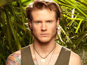 "The McFly star says that he found entering the jungle reality show ""terrifying""."