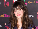 Zooey Deschanel also says she's much more bubbly than her on-screen characters.