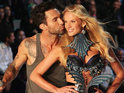 The Voice coach insists that he is still dating model Anne Vyalitsyna.