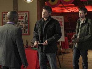 Supernatural S07E08: 'Season Seven, Time for a Wedding'