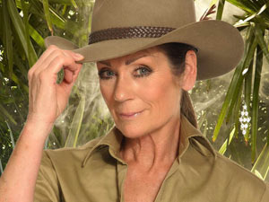 Lorraine Chase in I'm A Celebrity Get Me Out Of Here 2011