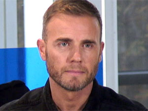 Gary Barlow at The X Factor press conference