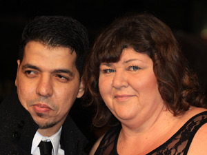 Cheryl Fergison and Yassine Al-Jeromni