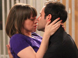 Nikhil and Gennie finally kiss