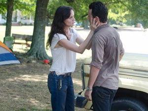 Lori Grimes and Shane Walsh