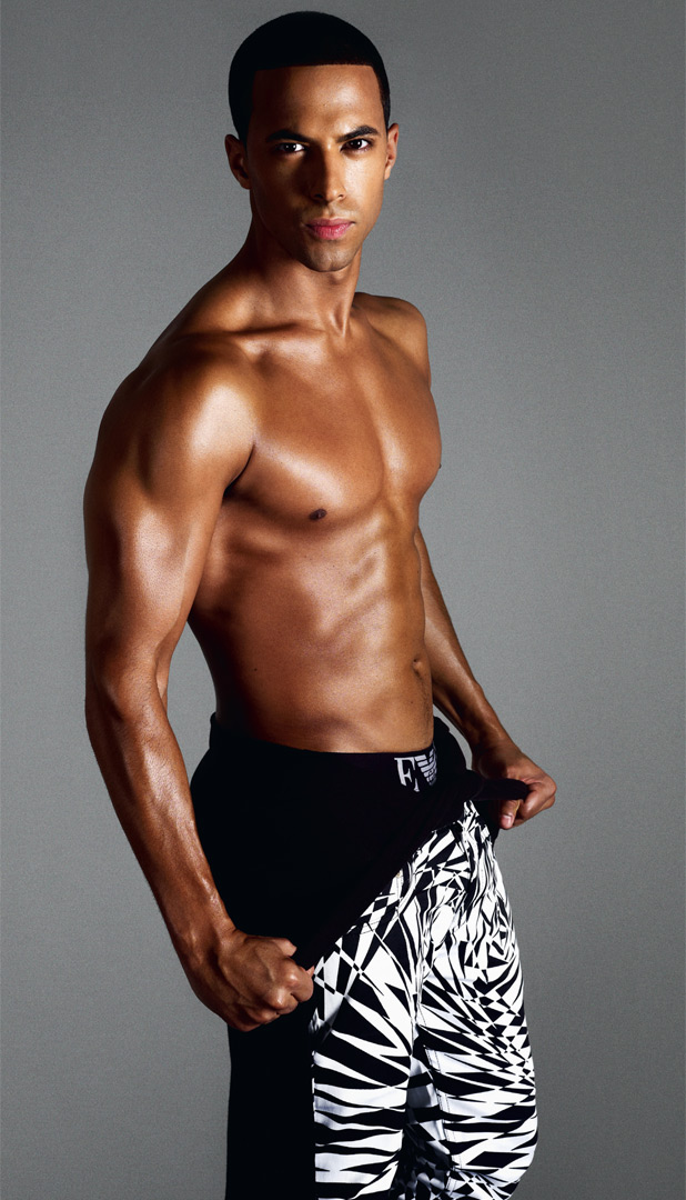 is marvin harrison gay was study
