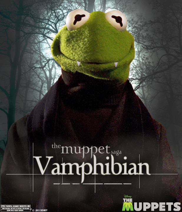 The Muppets Twilight spoof posters