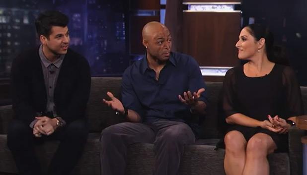 J.R Martinez, Ricki Lake, Rob Kardashian