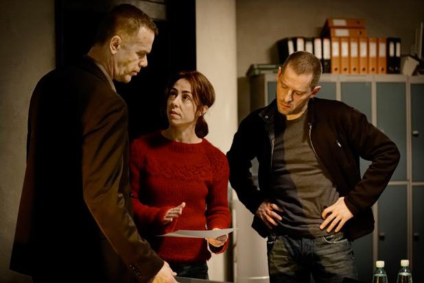 Lennart Brix, Sarah Lund and Ulrik Strange