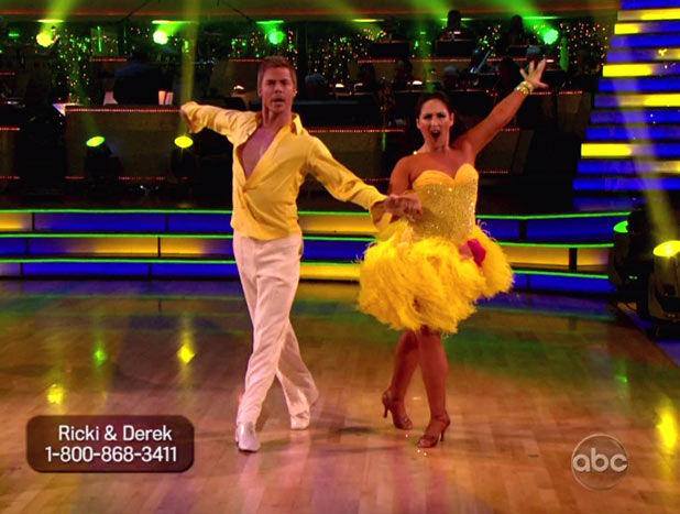DWTS S13E17: Derek Hough and Ricki Lake