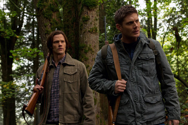 Jared Padalecki as Sam and Jensen Ackles as Dean