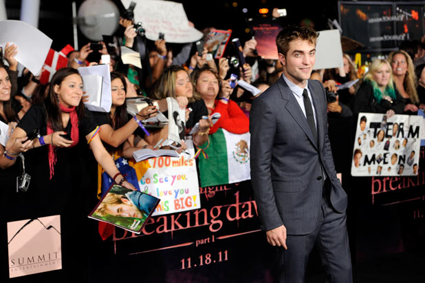 'The Twilight Saga: Breaking Dawn - Part 1' Premiere: Robert Pattinson