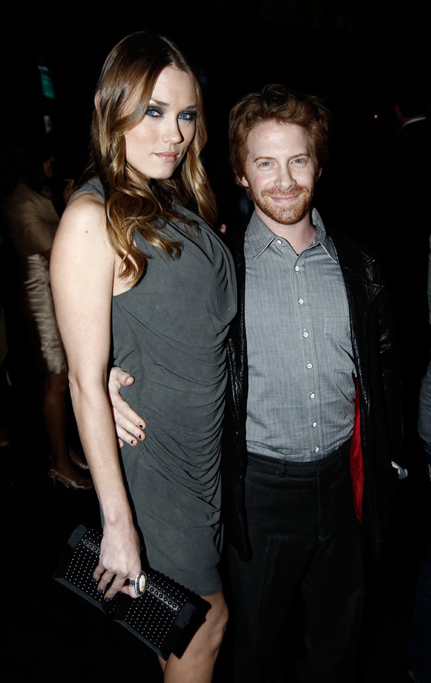 Seth Green with his wife Clare Grant