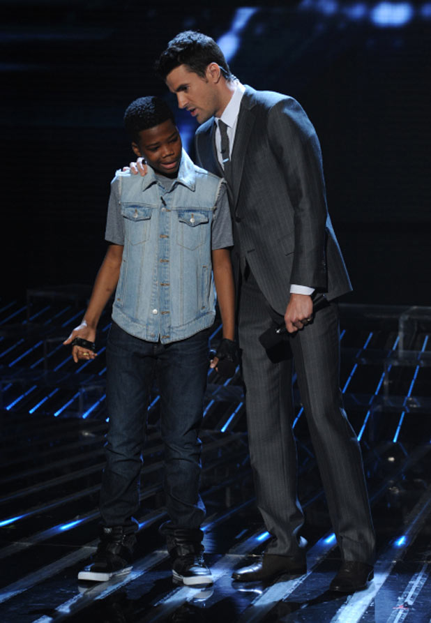The X Factor USA Top 10 Results Show: Astro and Steve Jones