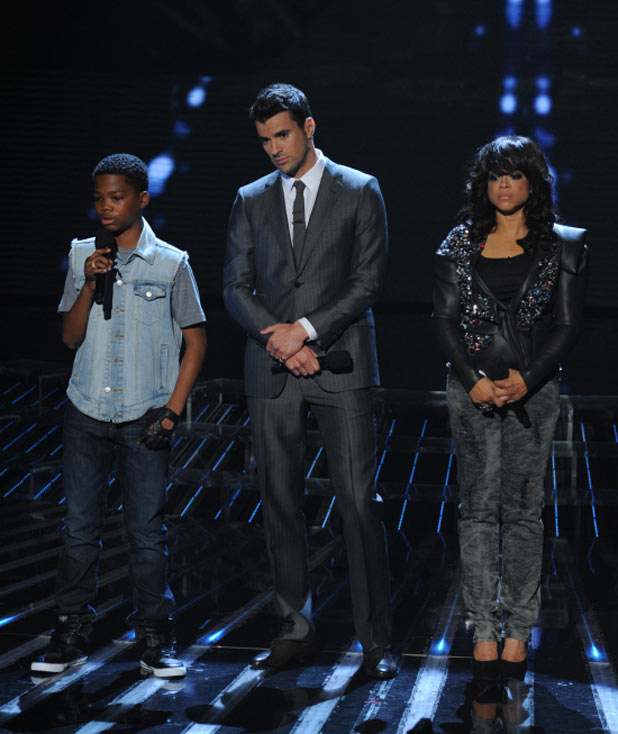 The X Factor USA Top 10 Results Show: Astro, Steve Jones and Stacy Franci