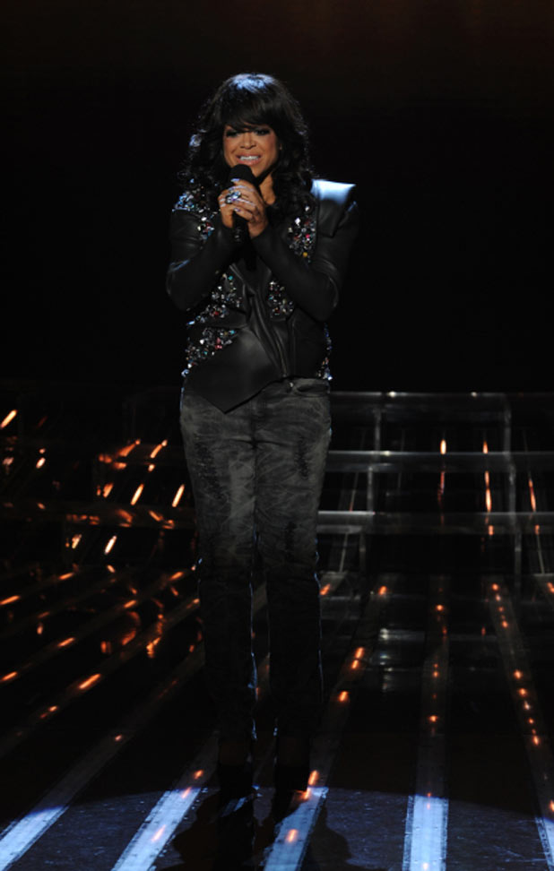 The X Factor USA Top 10 Results Show: Stacy Francis performs