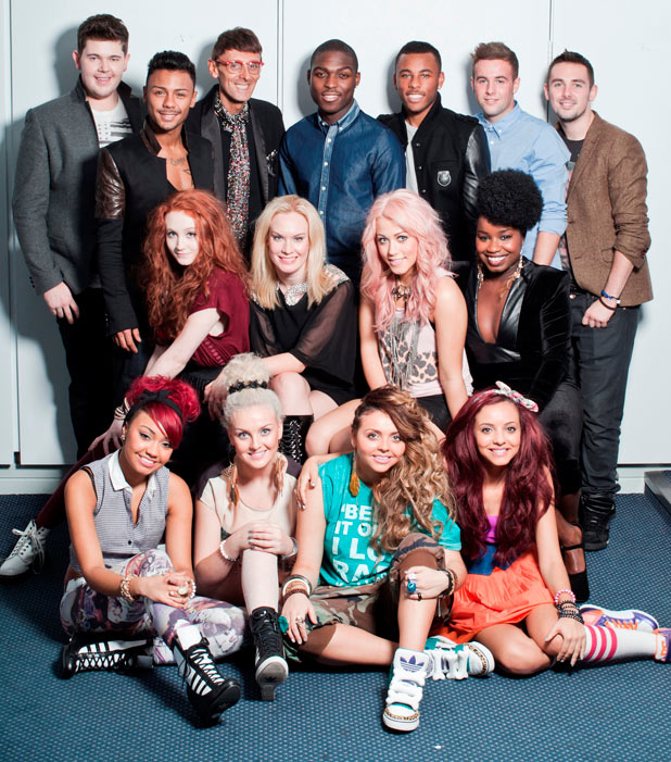 The final nine acts to take part in The X Factor Live Tour 2012