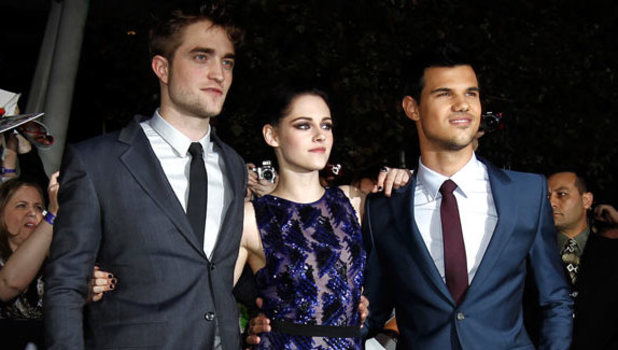 'The Twilight Saga: Breaking Dawn - Part 1' Premiere: Robert Pattinson, Kristen Stewart and Taylor Lautner