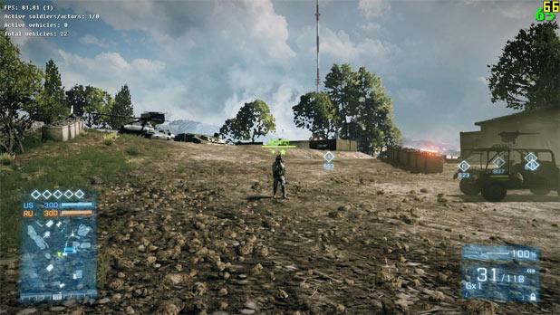 Battlefield 3 tactical light