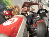 Mario Kart 7 at LA Auto Show