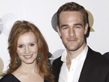 James Van der Beek and Kimberly Brook 