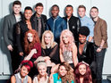 It is claimed that none of the surviving X Factor stars talk to each other.