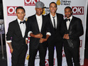 JLS and One Direction put forward members of their backroom team for an award.