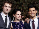 Robert Pattinson, Kristen Stewart, Taylor Lautner and co-stars meet fans on the red carpet.