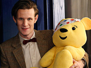 Matt Smith in the Doctor Who Children in Need special 2011