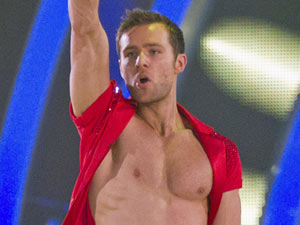 Harry Judd in Strictly Come Dancing