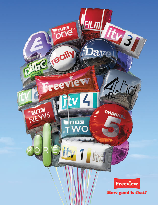 Freeview: New Marketing Brand Campaign