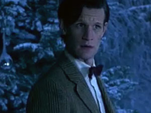 Matt Smith in the Doctor Who Christmas Special 2011