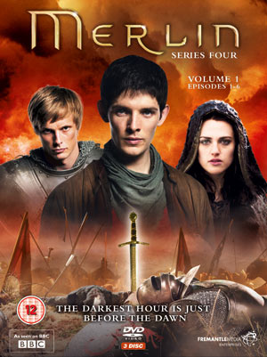 Merlin Season 4 DVD packshot