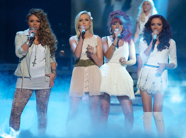 The X Factor: Perrie from Little Mix takes the lead