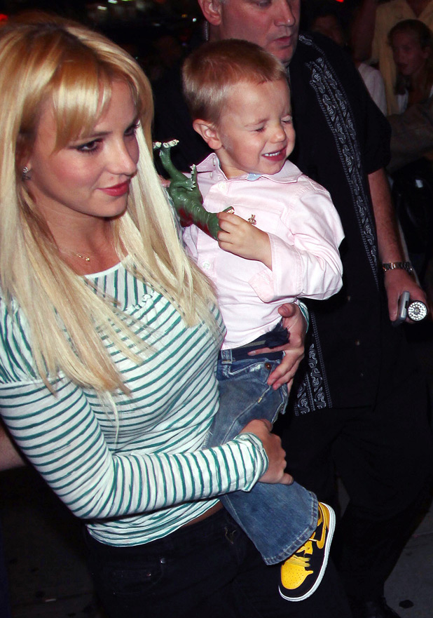 Britney Spears and Jayden James