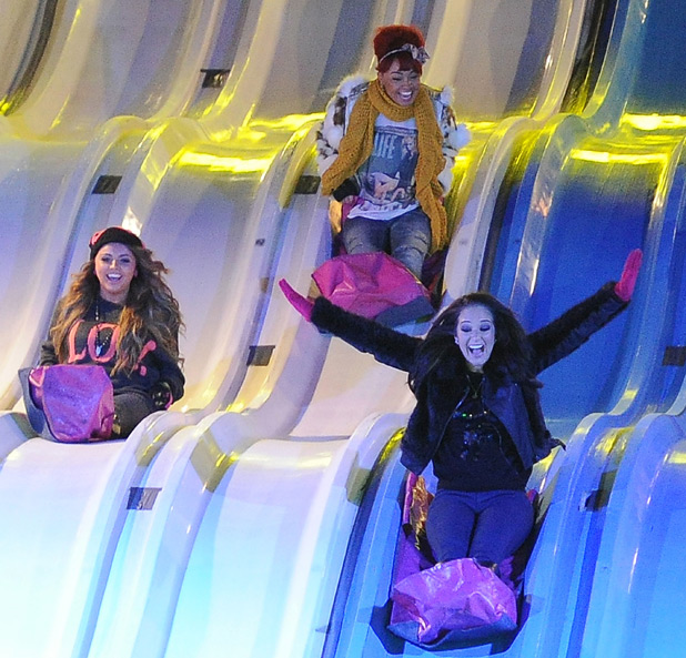 X Factor stars hit Winter Wonderland gallery