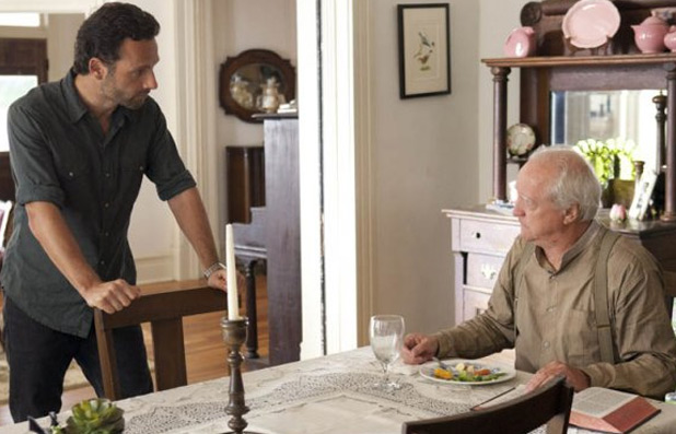 Rick Grimes and Hershel