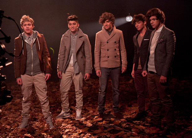 One Direction X Factor video